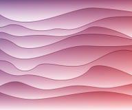 αφηρημένα διανυσματικά κύματα ανασκόπησης απεικόνιση αποθεμάτων