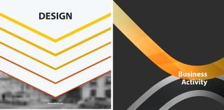 Αφηρημένα διανυσματικά στοιχεία σχεδίου για το γραφικό σχεδιάγραμμα Στοκ Εικόνες