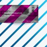 Αφηρημένα διανυσματικά στοιχεία σχεδίου για το γραφικό σχεδιάγραμμα Στοκ φωτογραφία με δικαίωμα ελεύθερης χρήσης