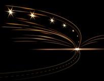 Αφηρημένα ελαφριά αποτελέσματα bottle car hand head his light lights man one silhouette wine Δρόμος, οδός, εθνική οδός, οδός ταχε Στοκ Εικόνες