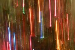 Αφηρημένα ελαφριά χρώματα ουράνιων τόξων ιχνών Στοκ εικόνες με δικαίωμα ελεύθερης χρήσης