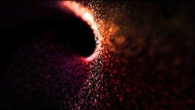 Αφηρημένα ενεργειακά καυτά μόρια κυμάτων υποβάθρου στοκ φωτογραφία με δικαίωμα ελεύθερης χρήσης