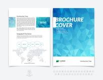 Αφηρημένα επιχειρησιακό φυλλάδιο, ιπτάμενο και templa σχεδιαγράμματος σχεδίου κάλυψης Στοκ φωτογραφία με δικαίωμα ελεύθερης χρήσης