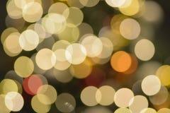 Αφηρημένα ζωηρόχρωμα θολωμένα φω'τα φωτισμού Χριστουγέννων Στοκ φωτογραφίες με δικαίωμα ελεύθερης χρήσης