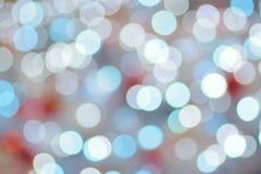 Αφηρημένα ζωηρόχρωμα θολωμένα φω'τα φωτισμού Χριστουγέννων Στοκ φωτογραφία με δικαίωμα ελεύθερης χρήσης