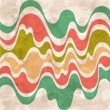 αφηρημένα ζωηρόχρωμα κύματα ανασκόπησης Στοκ φωτογραφία με δικαίωμα ελεύθερης χρήσης