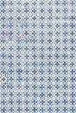 Αφηρημένα ζωηρόχρωμα μαροκινά, πορτογαλικά κεραμίδια, Azulejo, διακοσμήσεις Στοκ Φωτογραφία