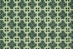 Αφηρημένα ζωηρόχρωμα μαροκινά, πορτογαλικά κεραμίδια, Azulejo, διακοσμήσεις Στοκ εικόνα με δικαίωμα ελεύθερης χρήσης