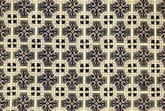 Αφηρημένα ζωηρόχρωμα μαροκινά, πορτογαλικά κεραμίδια, Azulejo, διακοσμήσεις Στοκ Εικόνες