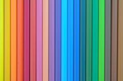 Αφηρημένα ζωηρόχρωμα μολύβια Στοκ Φωτογραφία