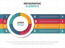 Αφηρημένα ζωηρόχρωμα στοιχεία επιχειρησιακού Infographics τριγώνων, παρουσίασης διανυσματική απεικόνιση σχεδίου προτύπων επίπεδη  στοκ εικόνες με δικαίωμα ελεύθερης χρήσης