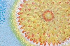 Αφηρημένα, ζωηρόχρωμα σχέδια κεραμικών κεραμιδιών Στοκ Εικόνες