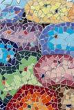 Αφηρημένα, ζωηρόχρωμα σχέδια κεραμικών κεραμιδιών Στοκ φωτογραφία με δικαίωμα ελεύθερης χρήσης