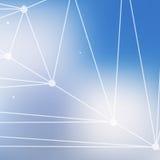 Αφηρημένα ζωηρόχρωμα τρίγωνα Στοκ Φωτογραφία