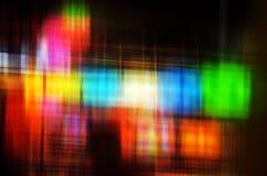Αφηρημένα ζωηρόχρωμα φω'τα θαμπάδων Στοκ φωτογραφίες με δικαίωμα ελεύθερης χρήσης