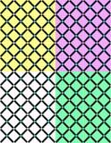 Αφηρημένα διαγώνια άνευ ραφής σχέδια Στοκ εικόνες με δικαίωμα ελεύθερης χρήσης