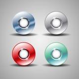 Αφηρημένα κουμπιά ελεύθερη απεικόνιση δικαιώματος