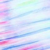 Αφηρημένα κτυπήματα βουρτσών watercolor Στοκ φωτογραφία με δικαίωμα ελεύθερης χρήσης