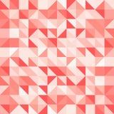 Αφηρημένα κόκκινα τρίγωνο και τετράγωνο στο κόκκινο ή πορτοκαλί σχέδιο χρώματος, Στοκ εικόνα με δικαίωμα ελεύθερης χρήσης