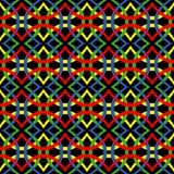 Αφηρημένα κύματα με τα ολυμπιακά χρώματα Στοκ Εικόνες