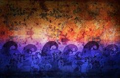 αφηρημένα κύματα ελεύθερη απεικόνιση δικαιώματος