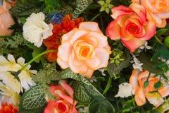 αφηρημένα λουλούδια ανα&si κλείστε επάνω Στοκ Φωτογραφία