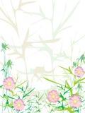 αφηρημένα λουλούδια ανα&si Στοκ φωτογραφία με δικαίωμα ελεύθερης χρήσης