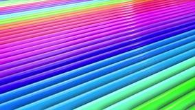 Αφηρημένα λωρίδες χρωμάτων ουράνιων τόξων, υπόβαθρο σε 4k με το φωτεινό λαμπρό χρώμα Ομαλή άνευ ραφής ζωτικότητα με το χρώμα κλίσ φιλμ μικρού μήκους