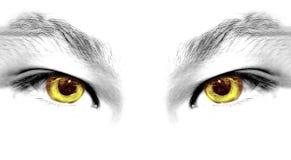 αφηρημένα μάτια Στοκ Φωτογραφία