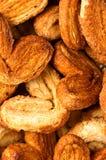 αφηρημένα μπισκότα ανασκόπη&s Στοκ Φωτογραφίες