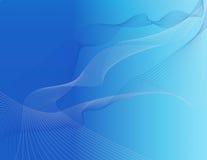 αφηρημένα μπλε διαστημικά λωρίδες ανασκόπησης Στοκ εικόνα με δικαίωμα ελεύθερης χρήσης
