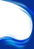 αφηρημένα μπλε κύματα ελεύθερη απεικόνιση δικαιώματος