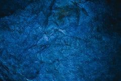 Αφηρημένα μπλε ναυτικά σύσταση και υπόβαθρο για το σχέδιο μπλε χρυσός τρύγος προτύπων ανασκόπησης Τραχιά μπλε σύσταση που γίνεται Στοκ Εικόνες