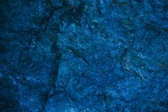 Αφηρημένα μπλε ναυτικά σύσταση και υπόβαθρο για το σχέδιο μπλε χρυσός τρύγος προτύπων ανασκόπησης Τραχιά μπλε σύσταση που γίνεται Στοκ Φωτογραφία