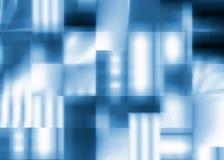 αφηρημένα μπλε τετράγωνα α&n ελεύθερη απεικόνιση δικαιώματος