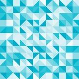 Αφηρημένα μπλε τρίγωνο και τετράγωνο στο ανοικτό μπλε σχέδιο χρώματος, Β Στοκ φωτογραφία με δικαίωμα ελεύθερης χρήσης