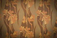 Αφηρημένα λουλούδια σύντομων χρονογραφημάτων στο συγκεκριμένο υπόβαθρο τοίχων τσιμέντου tex Στοκ Φωτογραφία