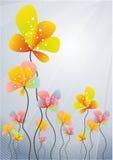 αφηρημένα λουλούδια Στοκ εικόνες με δικαίωμα ελεύθερης χρήσης