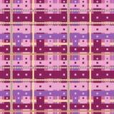 Αφηρημένα πορφυρά κύτταρα ελεύθερη απεικόνιση δικαιώματος