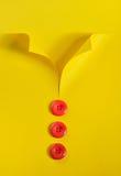 Αφηρημένα πουκάμισο και κουμπιά Στοκ Εικόνες