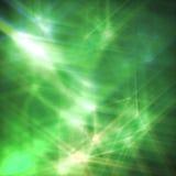 αφηρημένα πράσινα αστέρια ανασκόπησης διανυσματική απεικόνιση
