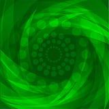 αφηρημένα πράσινα κύματα ανα& Διανυσματική ταπετσαρία Στοκ Φωτογραφίες