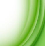 αφηρημένα πράσινα κύματα ανα& ελεύθερη απεικόνιση δικαιώματος
