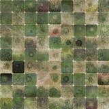 αφηρημένα πράσινα τετράγωνα  Στοκ Εικόνες