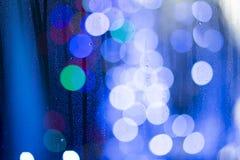 Αφηρημένα σημεία των φω'των Στοκ φωτογραφία με δικαίωμα ελεύθερης χρήσης