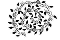 Αφηρημένα σπειροειδή λουλούδια Στοκ φωτογραφία με δικαίωμα ελεύθερης χρήσης