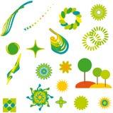 αφηρημένα στοιχεία σχεδί&omicro απεικόνιση αποθεμάτων