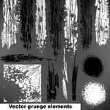 Αφηρημένα στοιχεία σχεδίου Grunge. Στοκ Εικόνες