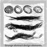 Αφηρημένα στοιχεία σχεδίου Grunge. Στοκ εικόνες με δικαίωμα ελεύθερης χρήσης