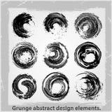 Αφηρημένα στοιχεία σχεδίου Grunge. Στοκ εικόνα με δικαίωμα ελεύθερης χρήσης